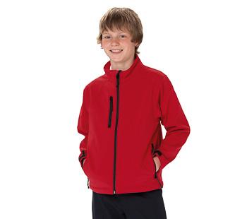 softshell jas voor kinderen