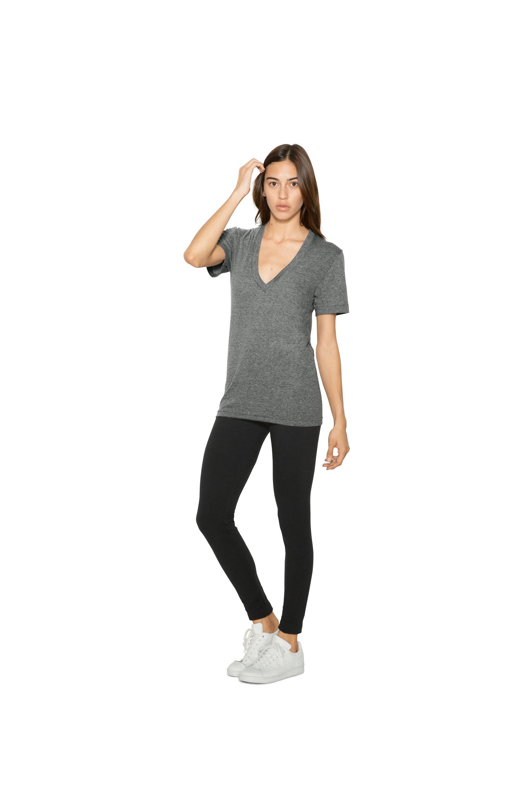 AMA V-Neck Triblend T-shirt Unisex