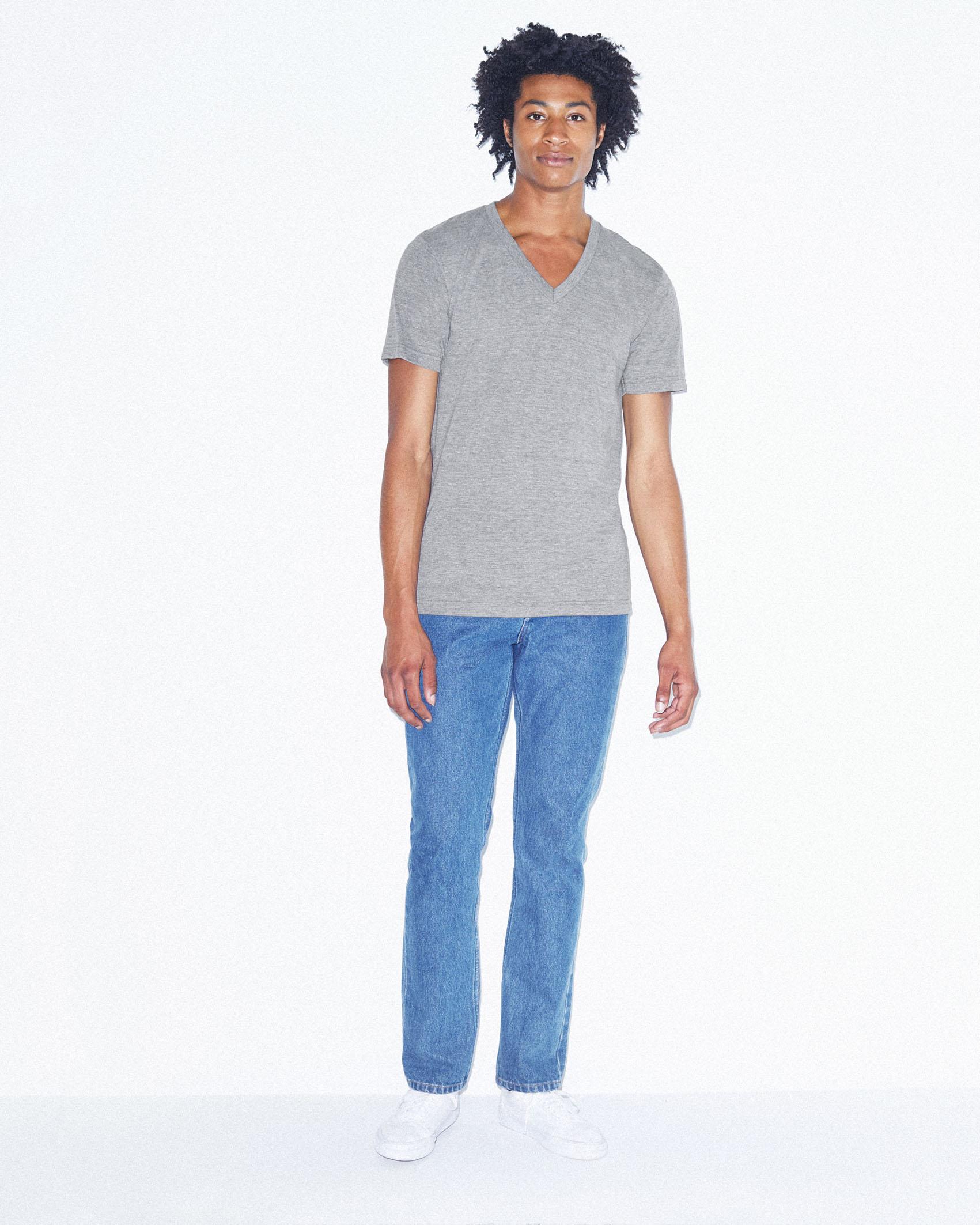 AMA V-Neck T-shirt Tri-Blend Unisex