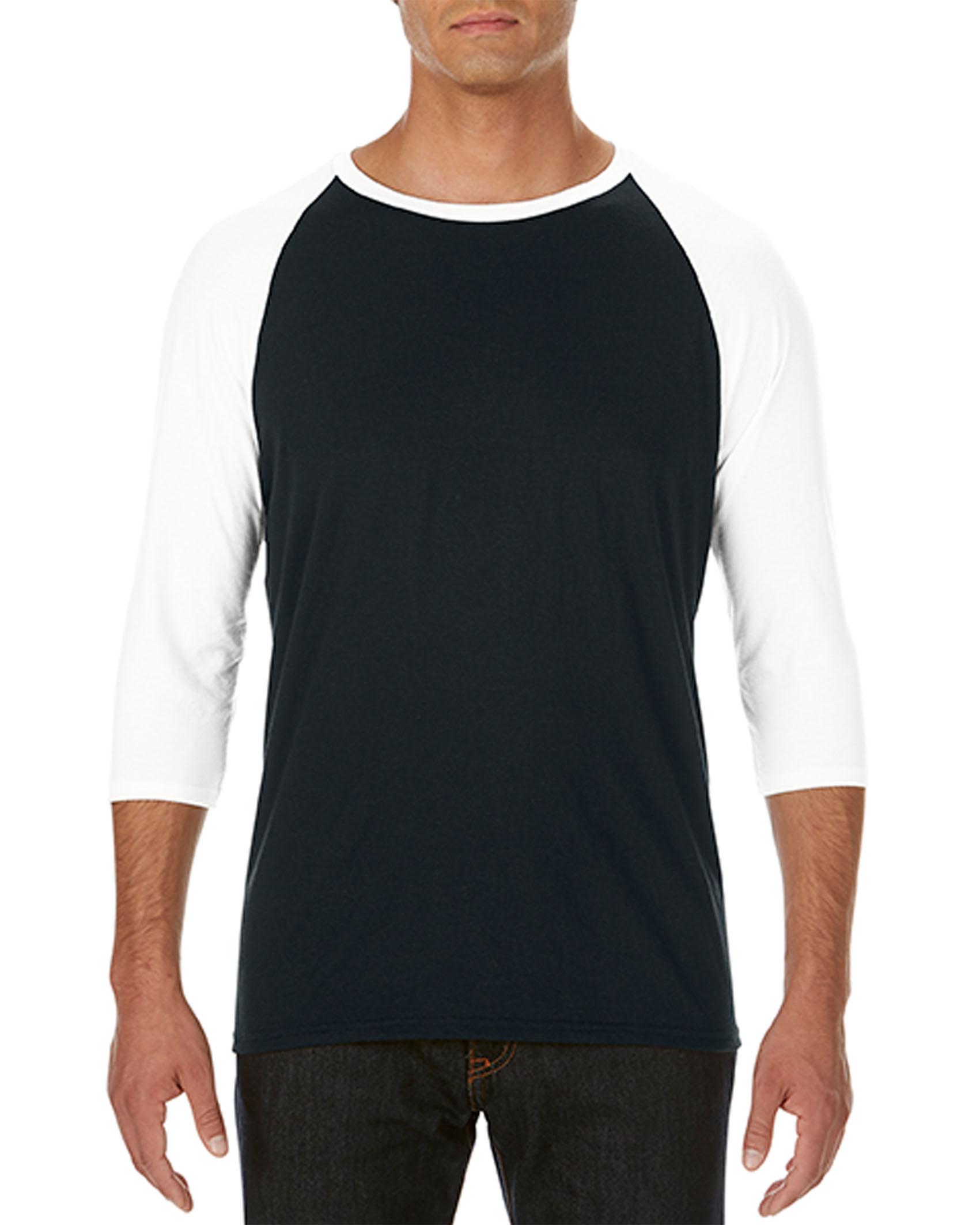 Anvil T-shirt TriBlend 3/4 Raglan Sleeve