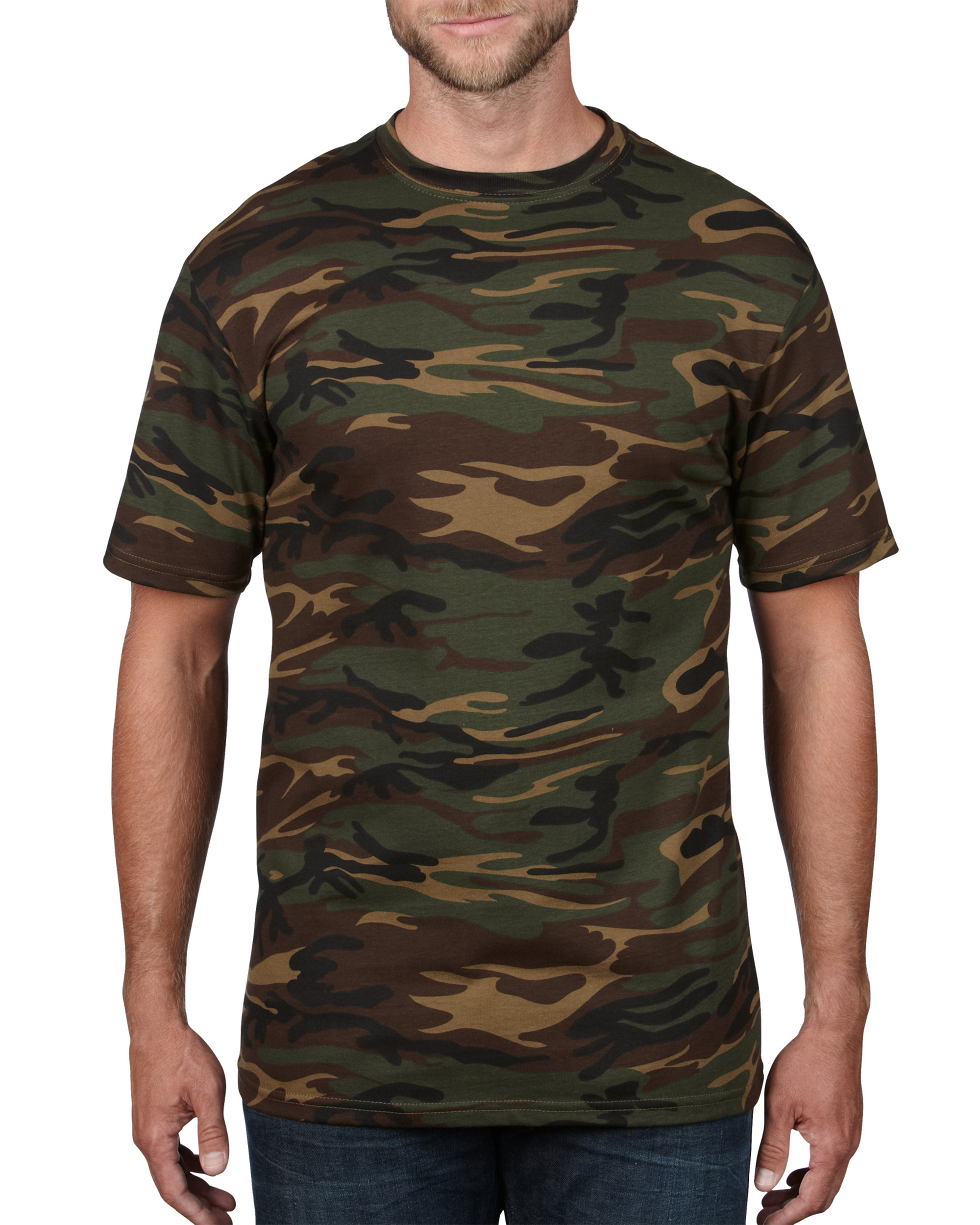 Anvil T-shirt Camouflage