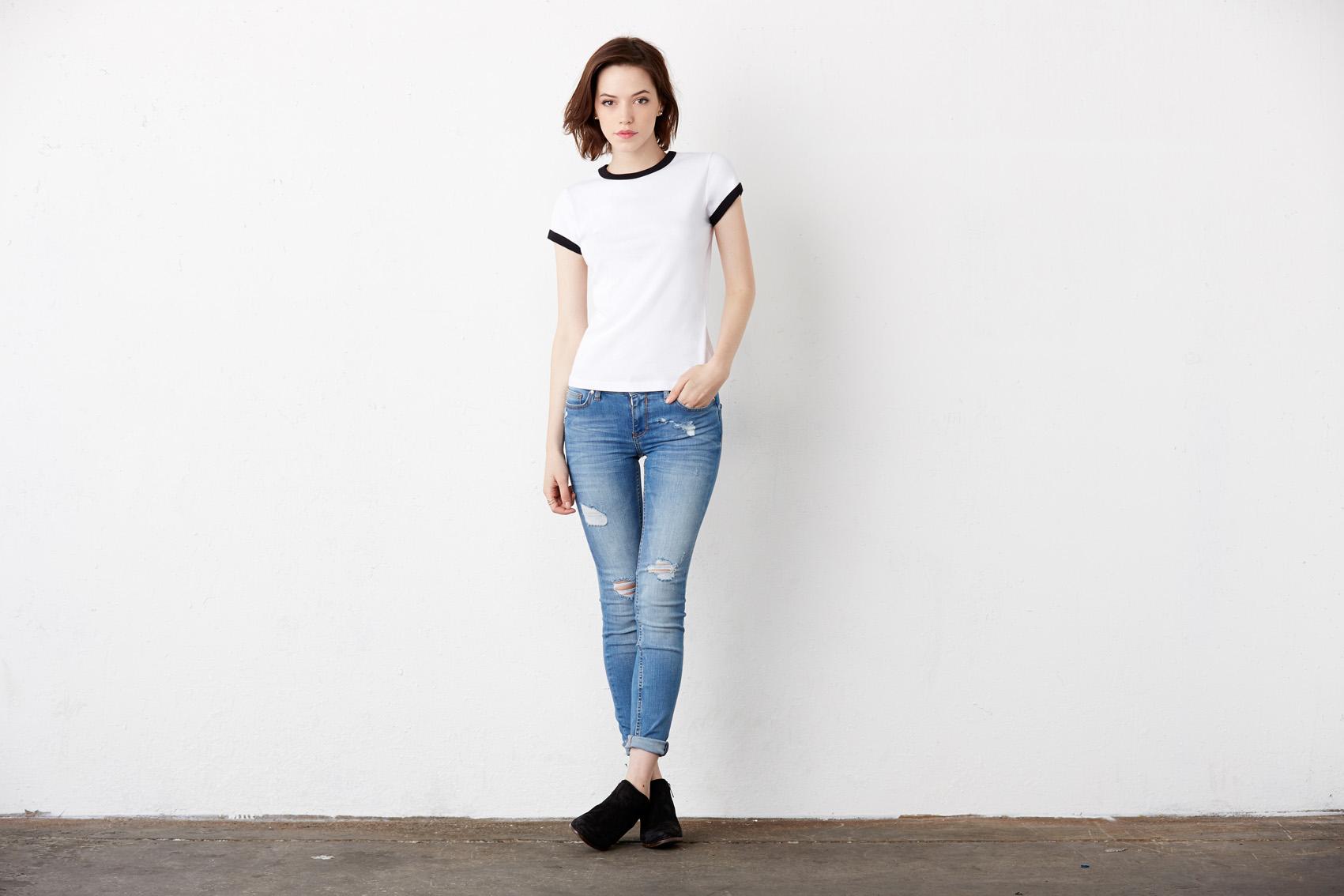 Bel+Can T-shirt Ringer SS
