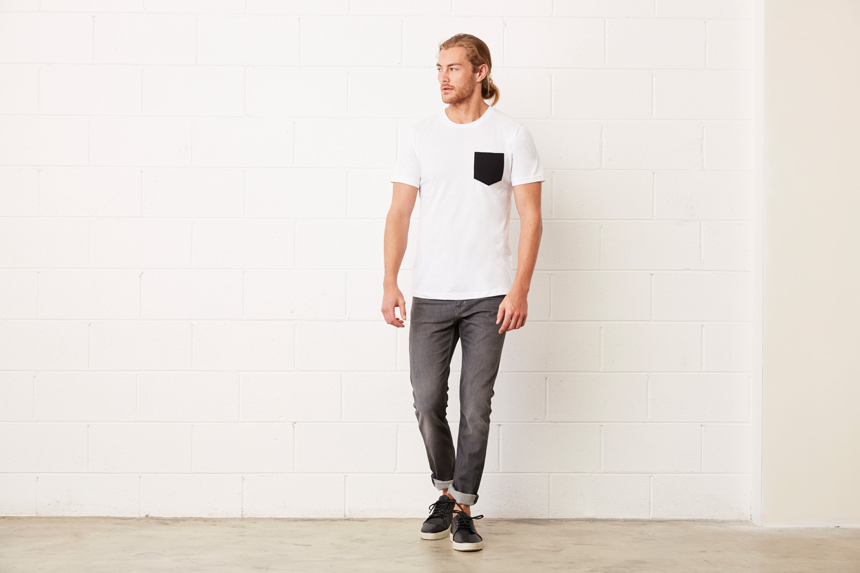 Bel+Can T-shirt Pocket
