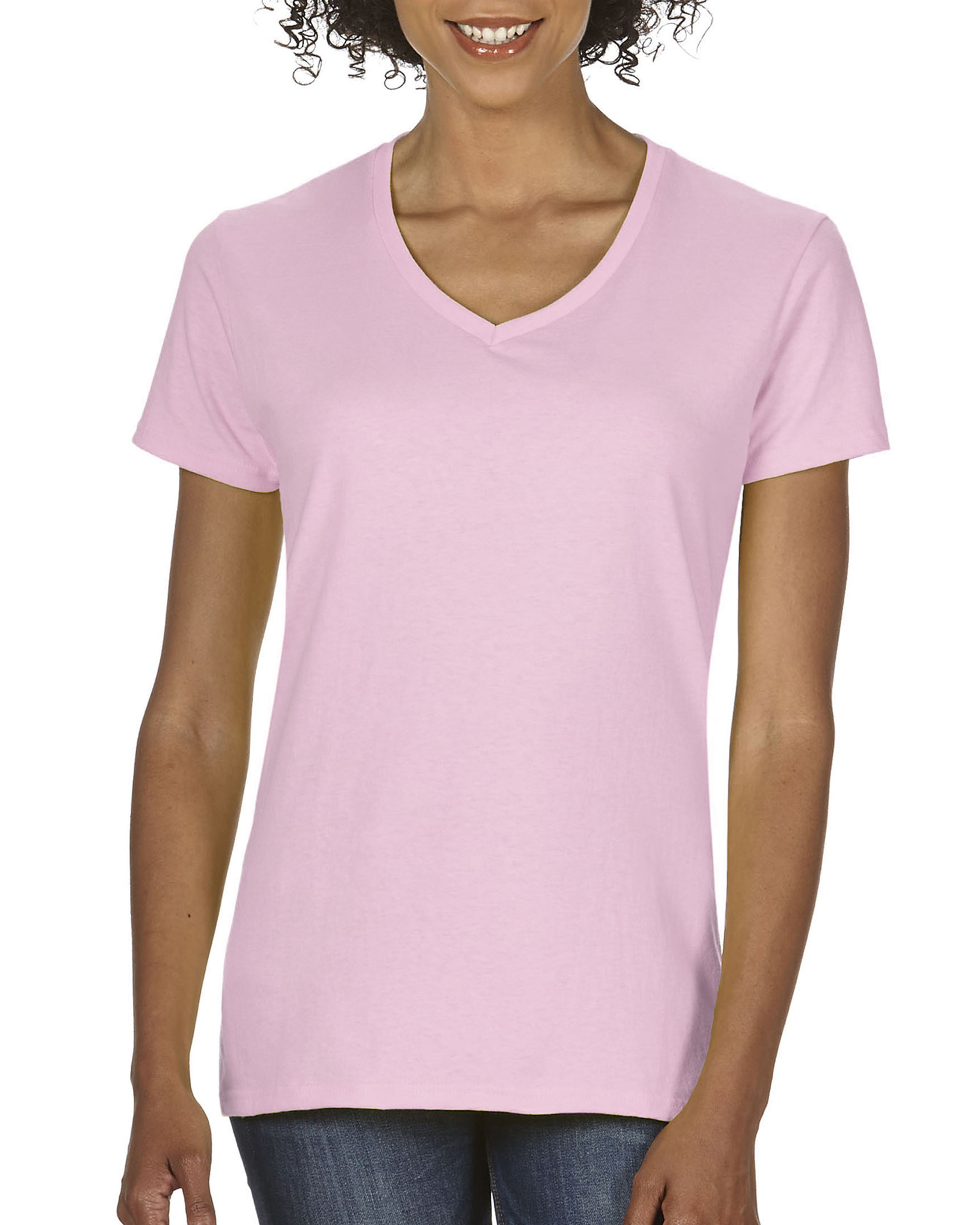 ComCol T-shirt Midweight V-neck SS for her