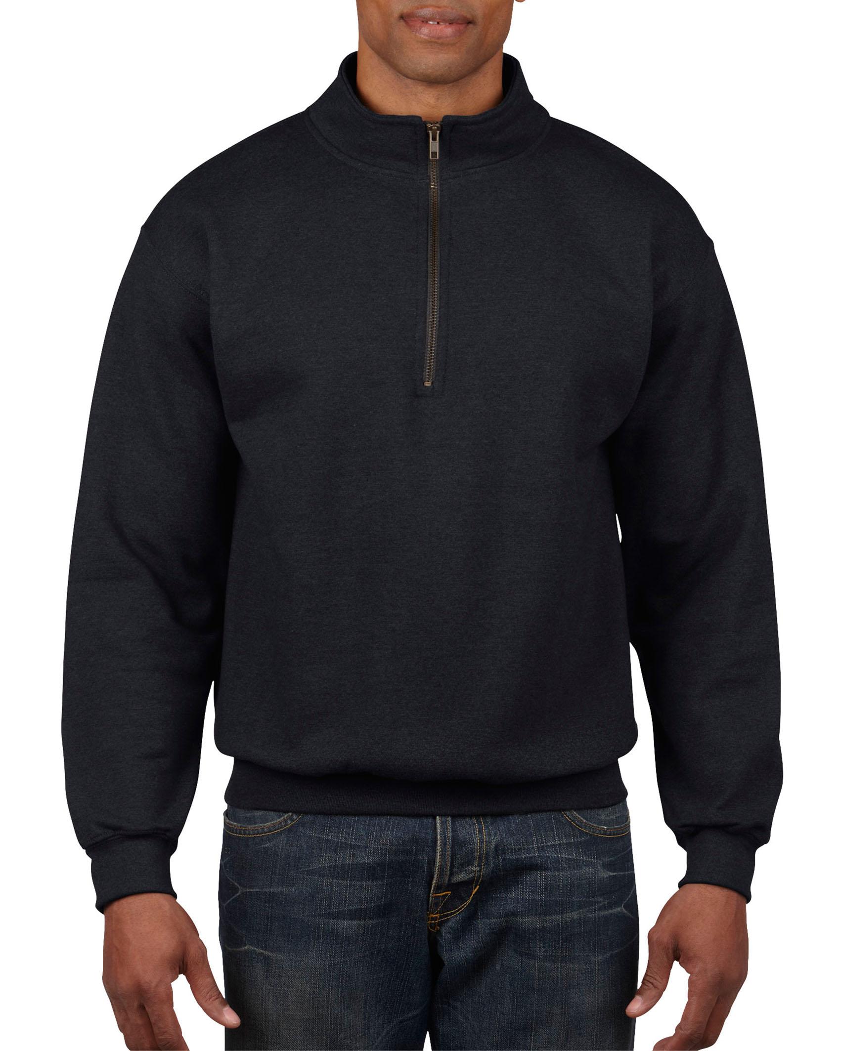 Gildan Sweater 1/4 Zip Cadet Vintage