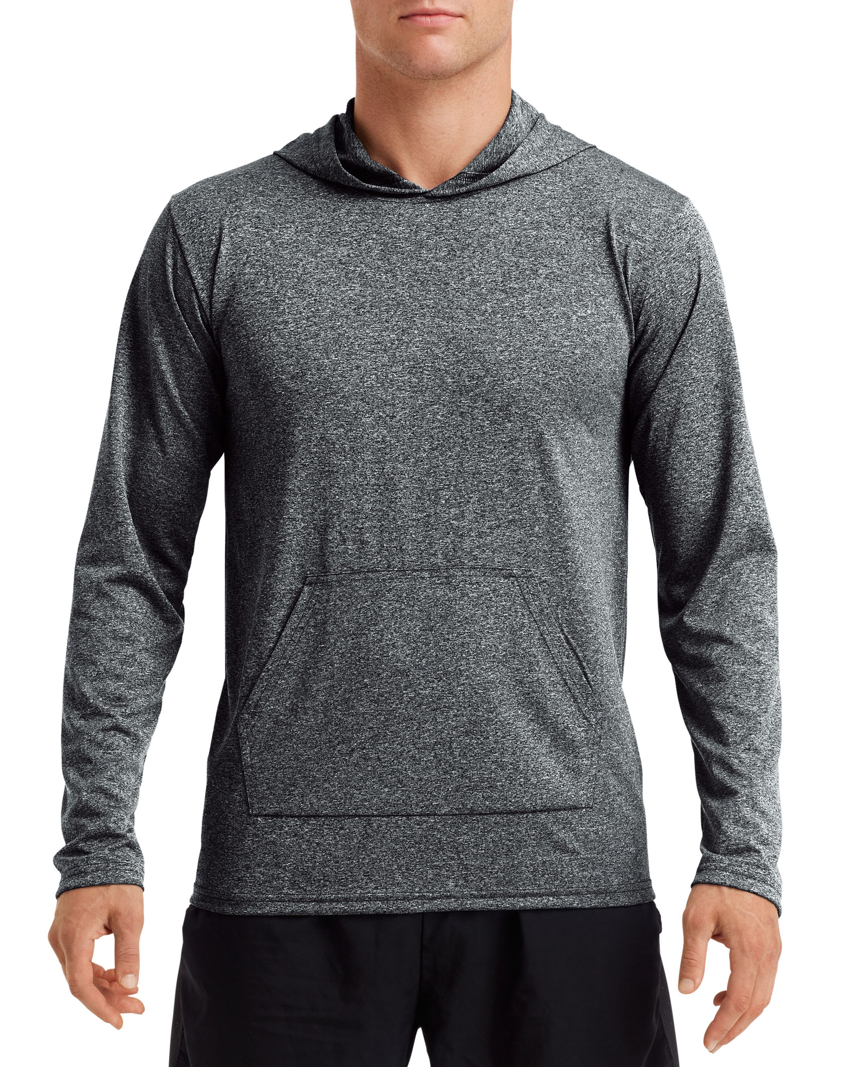 Gildan T-shirt Hooded Performance Adult LS