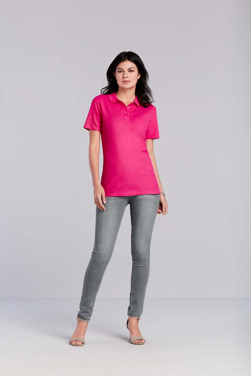 Gildan Polo Double Pique Softstyle for her