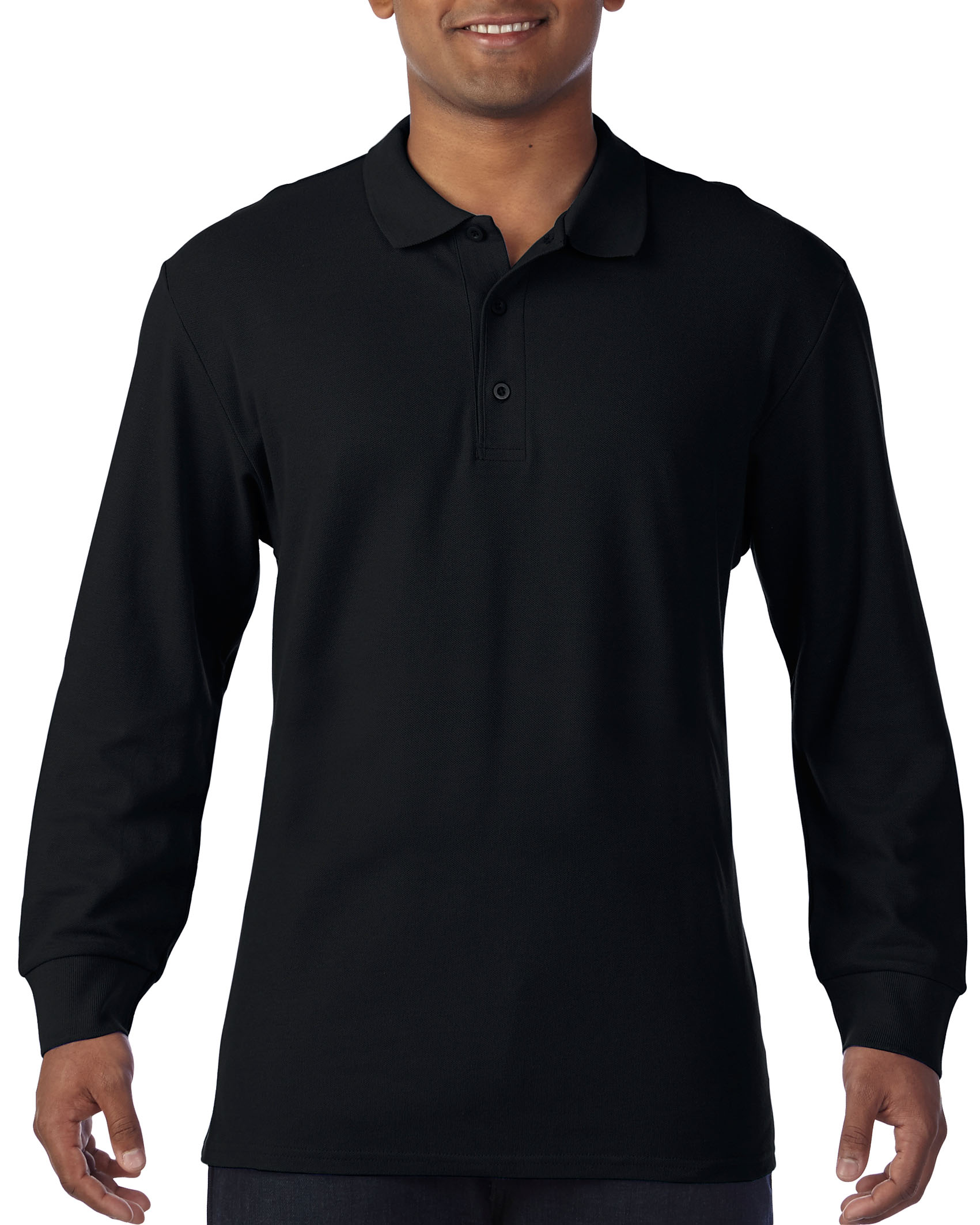 Gildan L/S Polo Premium Cotton for him