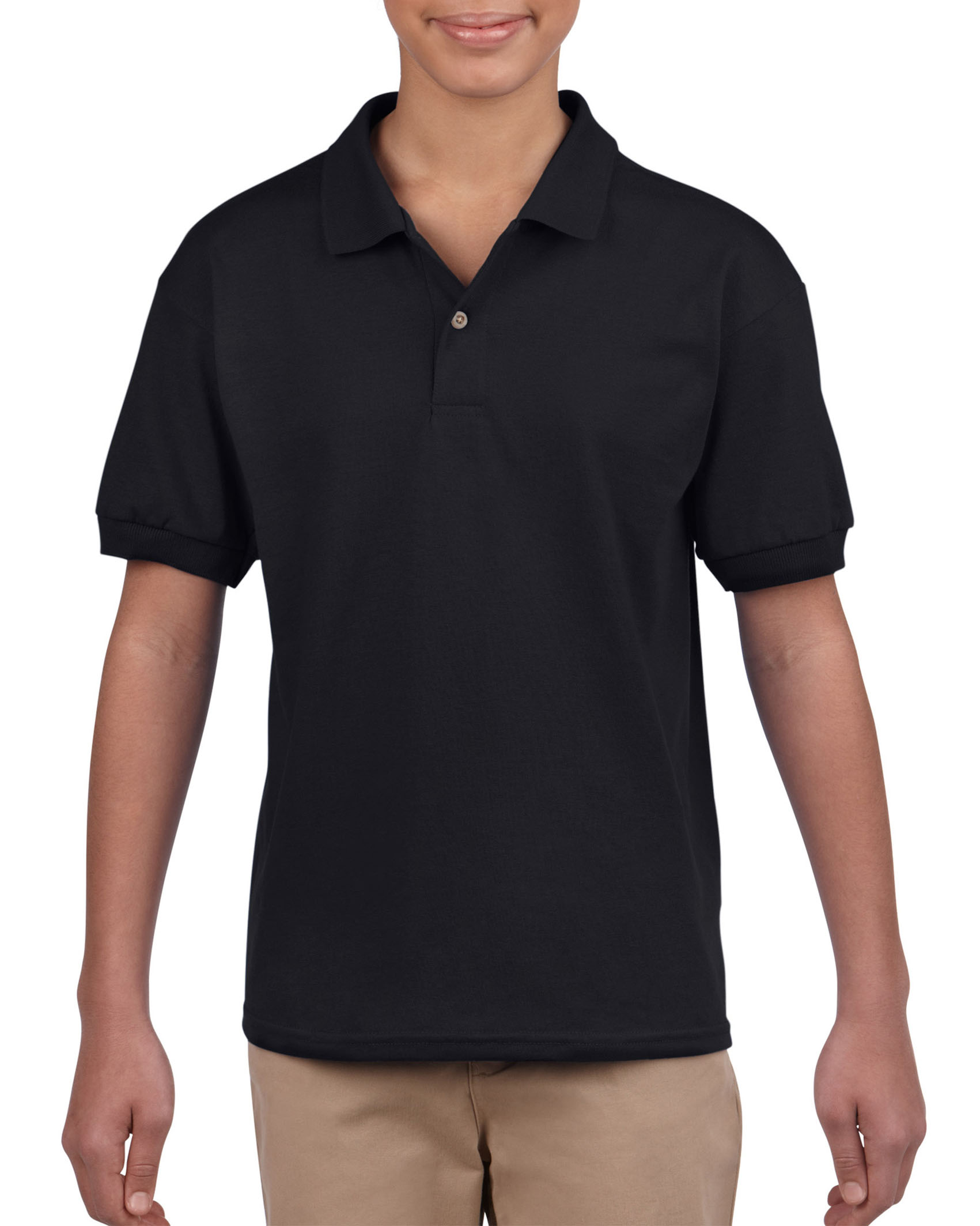 Gildan Polo Dryblend Jersey SS for kids