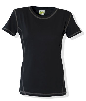 L&S T-shirt Flatlock SS for her