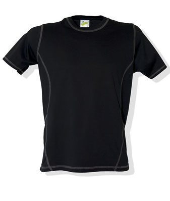 L&S T-shirt Flatlock SS for him