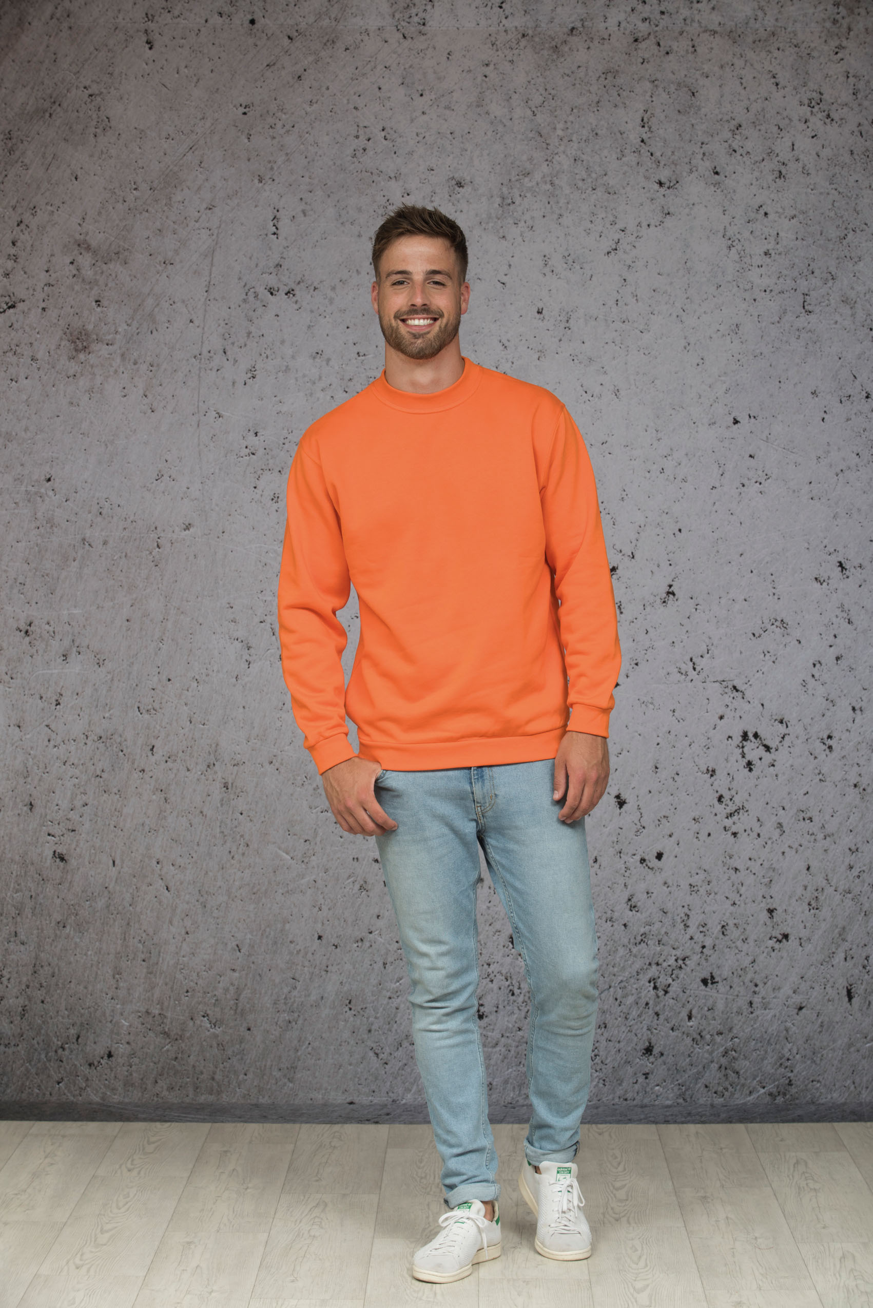L&S Sweater Set-in Crewneck