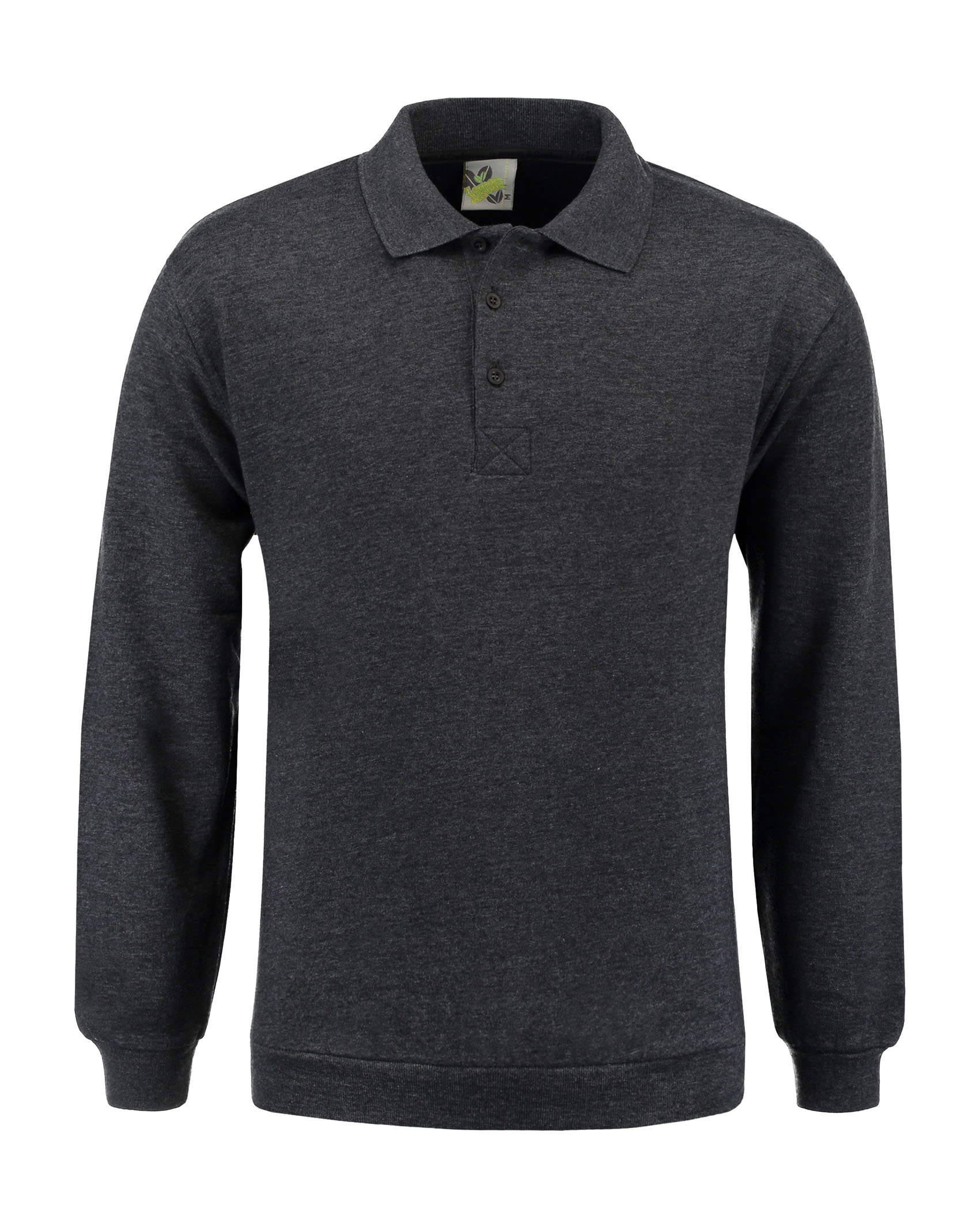 L&S Sweater Polo for him