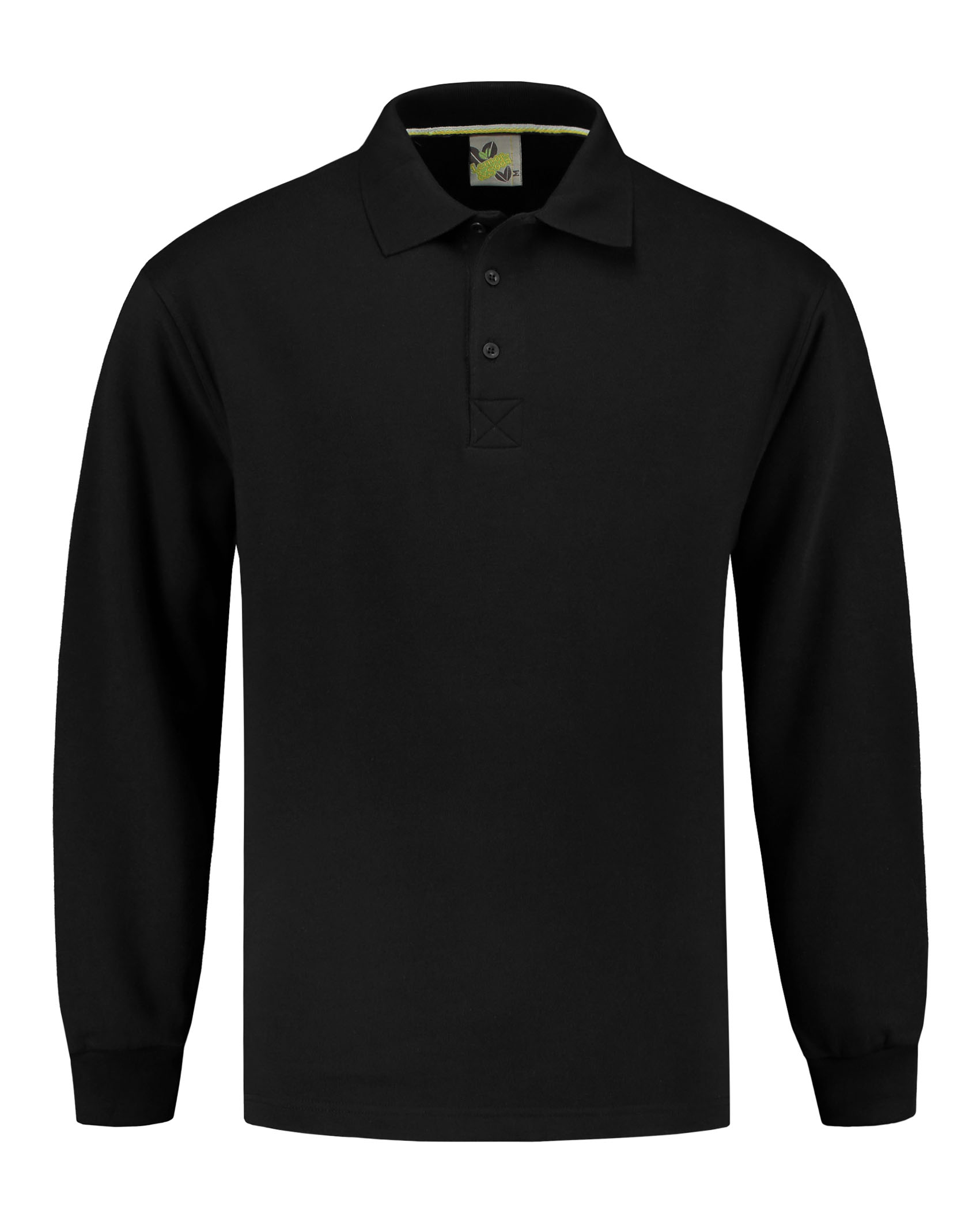 L&S Sweater Polo Open Hem