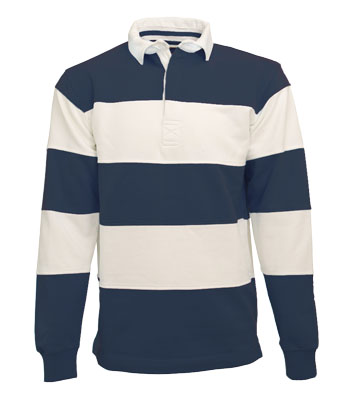 L&S Rugby Shirt Stripe