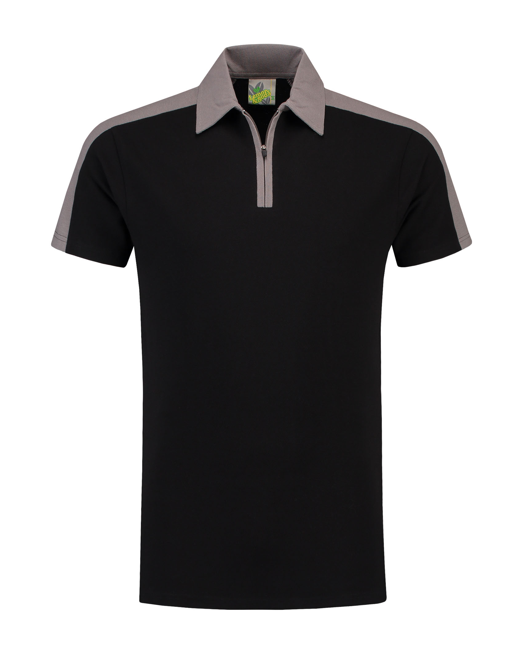 L&S Zip Polo for him