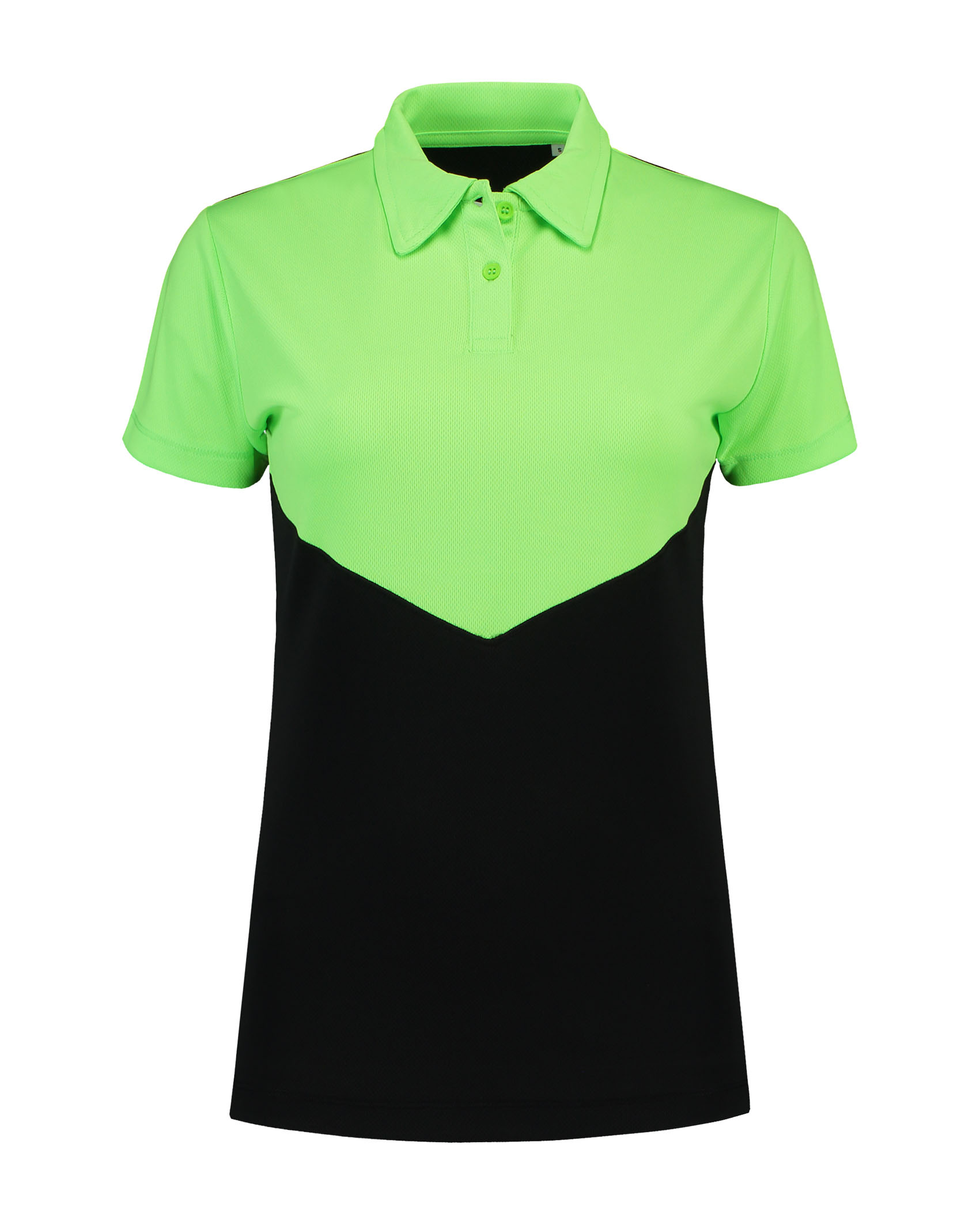 L&S Contrast Sports Poloshirt for her