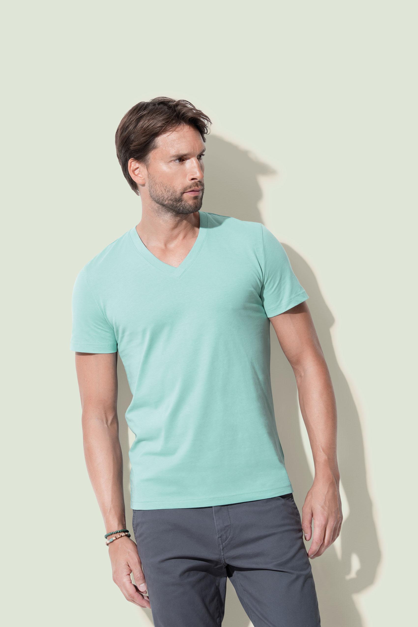 Stedman T-shirt V-neck James for him