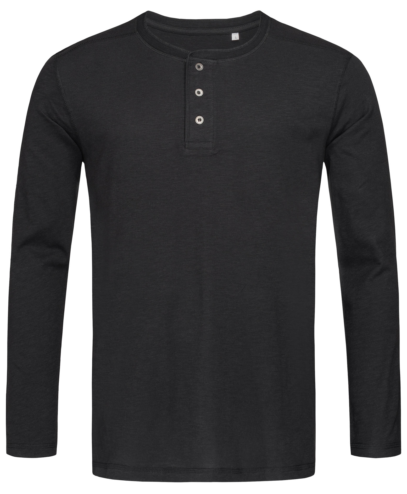 Stedman T-shirt Henley Shawn LS for him